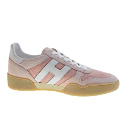 HOGAN Zapatos de Mujer Zapatillas Bajas HXW3570AC40KRF0QEJ H357 Talla 36 Rosa