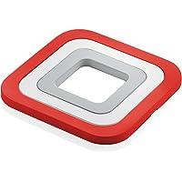 Fratelli Guzzini Kitchen Active Design Set Sottopentole  fundici oacute n de aluminio  Rosso
