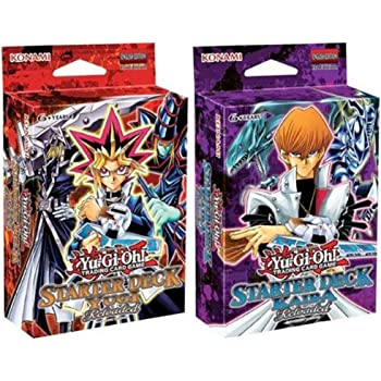 Yu-Gi-Oh Starter Deck Yugi & Kaiba Reloaded Set of 2 Sealed [Toy]