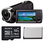 Sony HD Video Recording HDRCX405 Handycam Camcorder Bundle Cameras & Photography at amazon