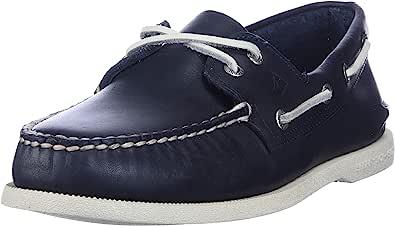 Sperry Top-Sider A/o 2-Eye, Scarpe da Barca Uomo, Blu (Navy), 47 EU