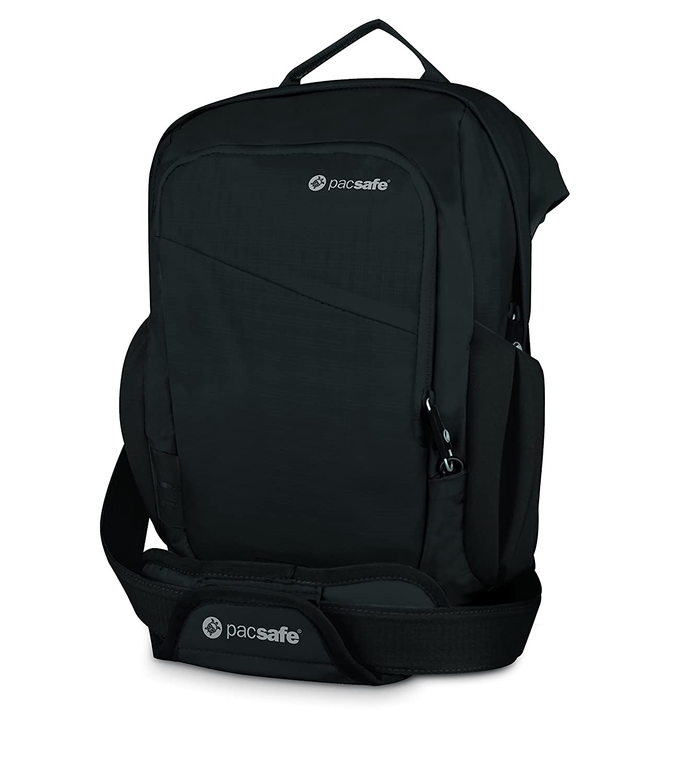 prada black leather bag - Pacsafe VentureSafe 300 Secure Travel Bag Black: Amazon.co.uk ...