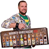 Männerhandtasche XXL von Kalea (Geschenkidee mit 12 x 0,33l. Bier Spezialitäten von Privatbrauereien und einem Informationsheft zu Bier)