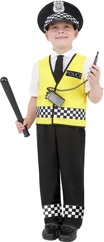 boys police costume childrens policeman fancy dress all