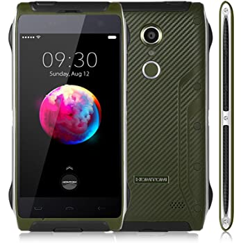 HOMTOM HT20 Pro 4G Smartphone 4.7 pollici 1280 x 720 pixels HD Cellulare Android 6.0 MTK6753 Octa Core mobile 1.3GHz 3GB RAM 32GB ROM Impronte digitali Scanner 13.0MP Telecamera posteriore IP68 impermeabile