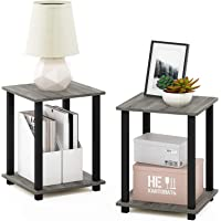 STAR WORK - Standing End Table and Shelf | Tier Floor Wall Shelves Living Bed Room Home Office | Multipurpose Organizer…