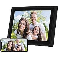 AEEZO WiFi Digitaler Bilderrahmen 10 Zoll Touchscreen FHD 2K Display Smart Fotorahmen mit 16 GB Speicher, einfache…