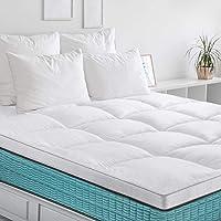 BedStory Surmatelas 90x190 cm, Couvre de Matelas en Microfibre 7D Hypoallergénique, Protège Matelas Respirant,Moelleux…
