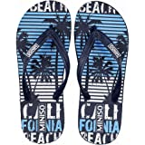 MINISO Mens Stylish Flip-Flops Thong Sandals and House Slippers