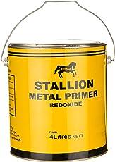 STALLION Red Oxide Metal Primer (Red, 4 Litre)