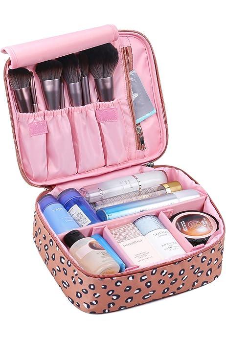 Apanphy® Bolsa de Aseo Neceseres de Viaje Travel Bolso cosmético Bolso de Maquillaje Almacenamiento portátil Estuche de Maquillaje con asa Makeup Toiletry Bag para Hombres Mujeres -Azul Profundo: Amazon.es: Equipaje