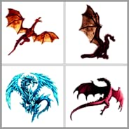 Best Pixel Art - Color By Number - Dragon Images Pixel - Sandbox