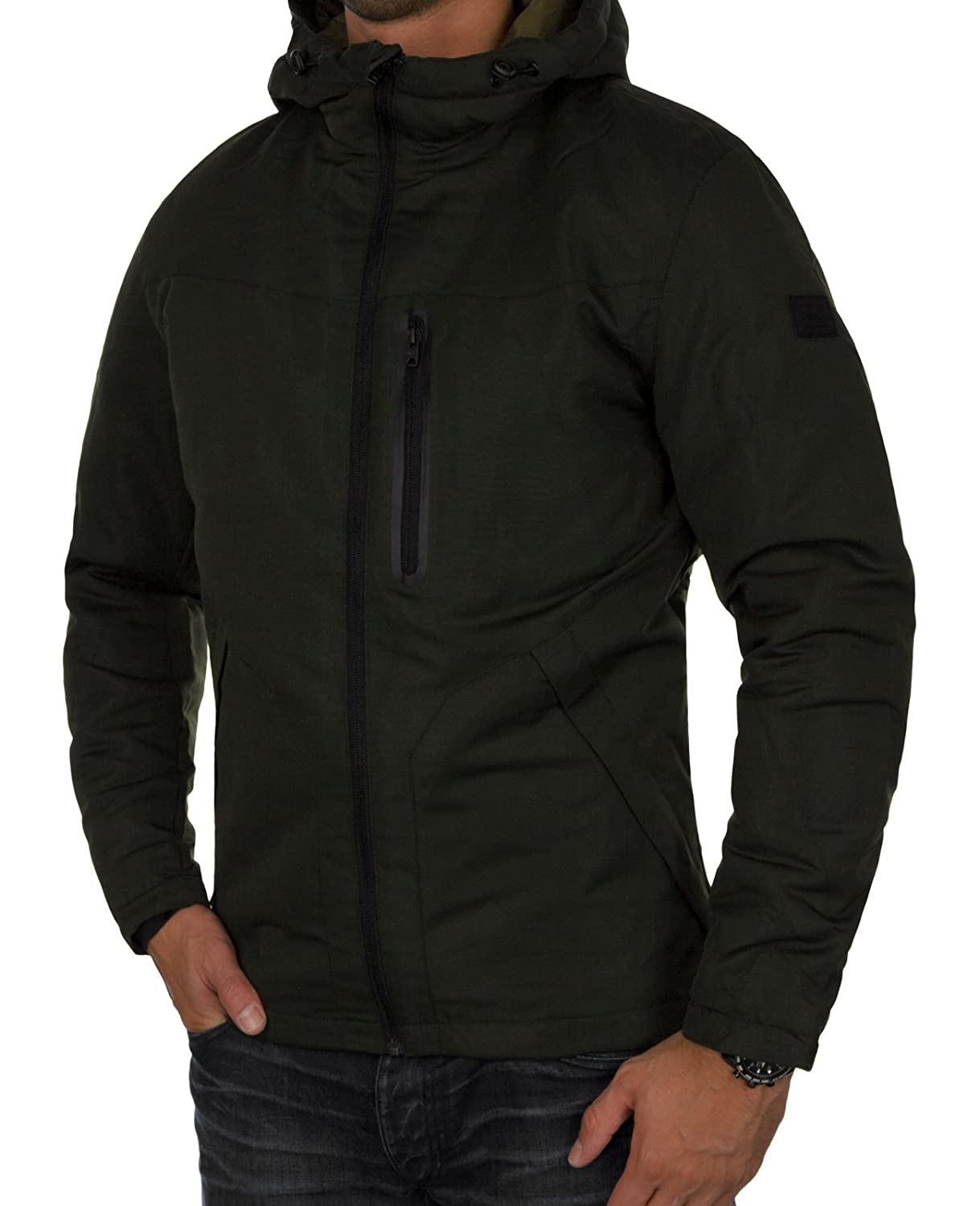Jackamp; Jones Herren One Jcocool Fit Jacke Outdoorjacke Hood Futter Winterjacke Jacket Kapuze Warm kOX0wnPN8Z
