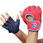 Bluee™ Weight Lifting Gloves with Padded & Anti-Slip Silica Gel Grip & Adjustable Fasteners, Gym Gloves for Yoga...