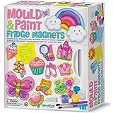 4M - 5603536 - Loisir Créatif - Kit de Moulage - Fridge Magnets