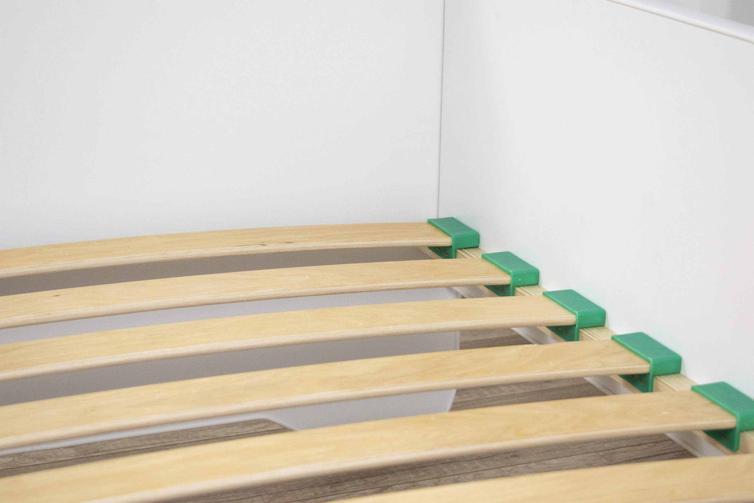 """Toddler Children Kids Bed *Including Mattress* CAR F1 140 x 70 (Race) Topbeds TODDLER BED - perfect transition from cot to the first """"big"""" bed HIGH QUALITY - made in EU. Quality controlled at each stage of production. Made out of high quality MDF which makes bed sturdy and lightweight at the same time. Wooden sprung slats included. SAFETY - low from the ground construction makes it easy for kids to climb in and out. Edges covered with soft PCV. Higher sides of the bed protect your kid from falling off. Furniture board finished with a non-toxic coating. Holds up to 150 kg. 6"""