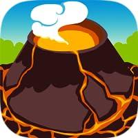 Burning Flow - Lava Volcano