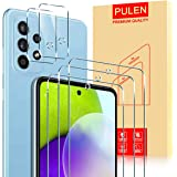 PULEN for Samsung Galaxy A52 4G/5G Screen Protector(3 PACK)+ Camera Protector(2 PACK)Lens Film Protective Tempered Glass 9H H