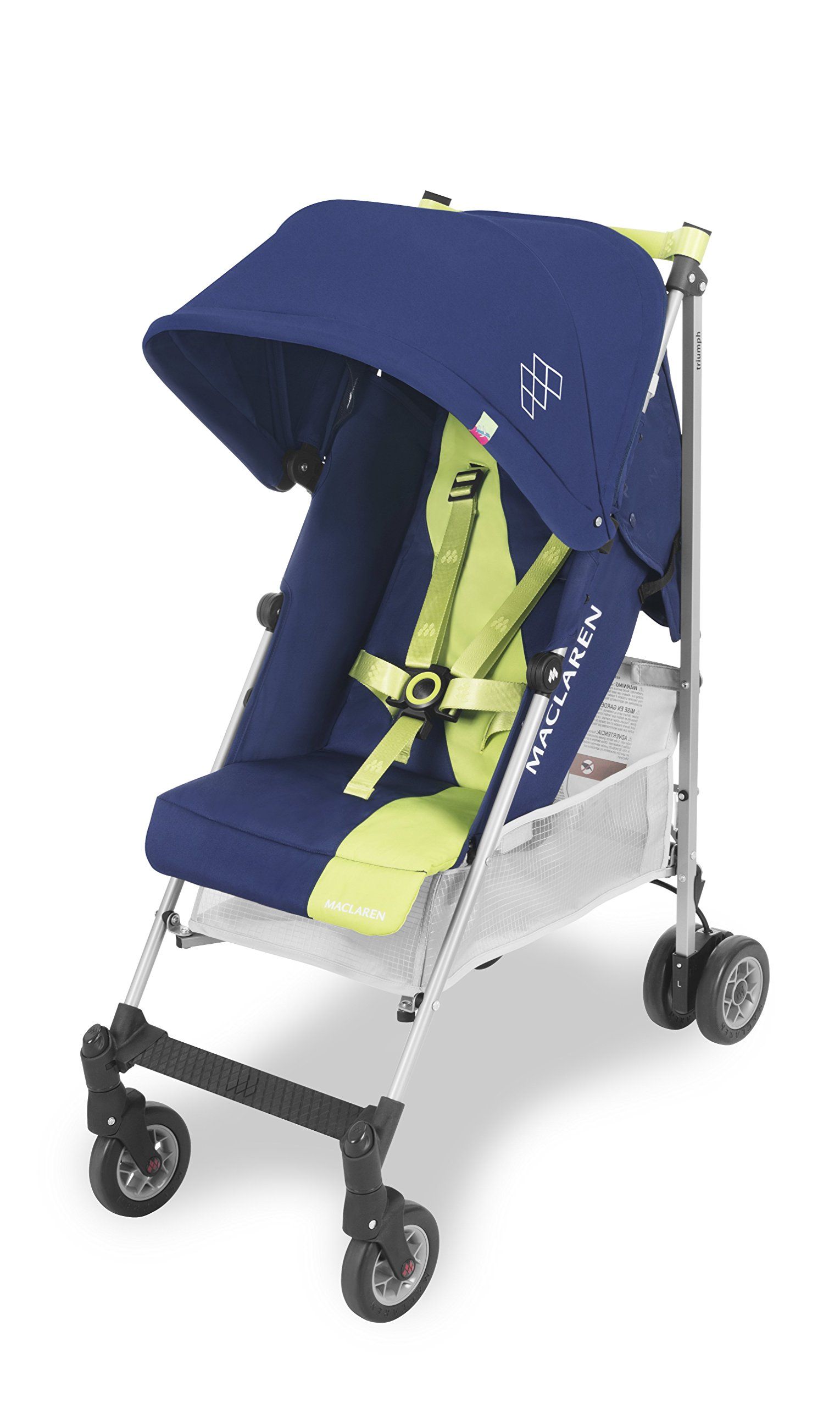 Maclaren Triumph Stroller - lightweight, compact Maclaren Basic weight of 5kg/ 11lb; ideal for children 6 months and up to 25kg/55lb Maclaren is the only brand to offer a sovereign lifetime warranty Extendable upf 50+ sun canopy and built-in sun visor 2