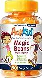 ActiKid Magic Beans Multi-Vitamin 90x Orange Flavour, Rafforzare il sistema immunitario