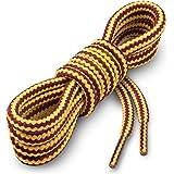 Miscly Lacci per Scarpe Rotondi [3 Paia] Stringhe Robuste e Resistenti - Ideali per Scarpe Da Trekking e Da Montagna, Scarpon