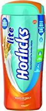 Horlicks Lite - Health and Nutrition drink (Regular Malt) 450gm Pet Jar