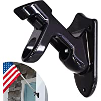 Anley Two-Position Flag Pole Holder   Mounting Bracket with Hardwares - Made of Aluminum Alloy - Strong and Rust Free - 1