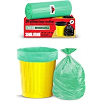Shalimar Premium OXO - Biodegradable Garbage Bags 19 X 21 Inches (Medium) 120 Bags (4 rolls) Dustbin Bag/Trash Bag…