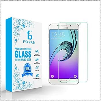 Samsung Galaxy A7 (2016) High Quality Tempered Glass [3D Touch Compatible- Tempered Glass] 0.2mm Screen Case Protection 99% Touch Accurate Fit (Clear,Comes with Warranty)