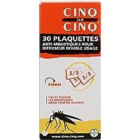 Cinq sur Cinq 30 Plaquettes Anti-Moustiques