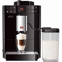 Melitta® Kaffeevollautomat mit Milchsystem schwarz, PASSIONE ONE TOUCH F53/1-102
