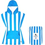 Dock & Bay Poncho with Hood - For Kids - Beach & Pool Towel - Super Absorbent, Quick Dry - Compact, Lightweight - Mini Collec