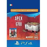 APEX Legends: 6,700 Coins (PSN Wallet Top-Up) | Codice download per PS4 - Account italiano