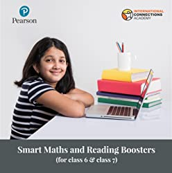 Smart Maths and Reading Boosters for Class 6 & Class 7 by Pearson & INACA