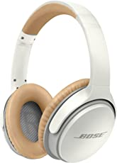 Bose 741158-0020 SoundLink Wireless Around-Ear Headphones with Mic (White)