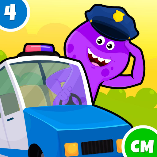 My Monster Town - Police Station Games for Kids