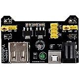 SODIAL(R) Planche a pain Power Supply Module Compatible 3.3V 5V module de puissance MB-102 soudure pain bricolage
