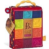 B. toys babyleksak mjuka byggklossar, byggstenar motorikleksaker, pedagogiska leksaker, stapelkub med siffror och djur för sp