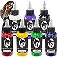 Tattoo kunstenaar inkt set permanente tattoo pigment kit lichaam beschildering kleur - 7 meest verkochte primaire kleuren - 2