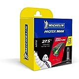 Michelin Protek Cámara, 27.5 x 1.90-2.5, Presta 40 mm, Unisexo, Negro