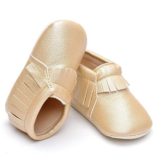 Bébé unisexe en daim solide Tassel Mocassins - Beige - beige, 3-6 mois:  Amazon.fr: Chaussures et Sacs
