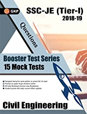 Booster Test Series - SSC JE Paper I - Civil Engineering - 15 Mock Tests (Questions, Answers and Explanations)