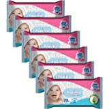 Papimo Baby Wet Wipes - 72 Count (Pack of 6)