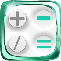 Tactile calculator White free