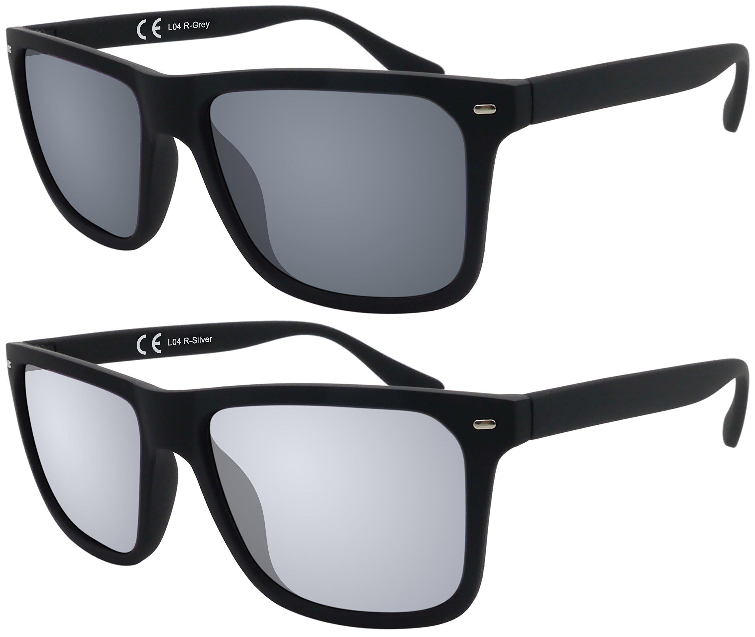 Original La Optica Verspiegelte UV400 Herren Sonnenbrille Wayfarer ...
