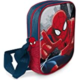 Star Licensing Marvel Spiderman Tracolla 3D Borsa Messenger, Multicolore