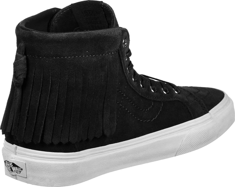 083ae06edd0629 Vans Sk8-Hi Moc (suede) black blanc  Amazon.co.uk  Shoes   Bags