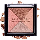 Swiss Beauty Beauty Baked Blusher and Highlighter (01)
