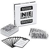 Noch Nie Habe Ich Trinkspiel Kartenspiel - Never Ever Have I deutsche Version Gesellschaftsspiel; 2-12 Spieler; XXL Fassung mit 300 Fragen