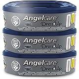 Angelcare - Dress Up - Recharges Octogonales pour Poubelle à Couche Dress up - Lot de 3